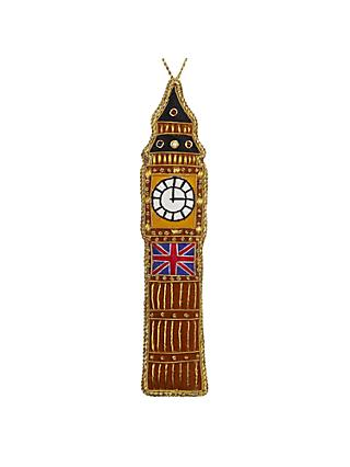 Tinker Tailor Tourism Big Ben Hanging Decoration