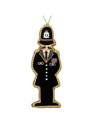 Tinker Tailor Tourism Policeman Tree Decoration