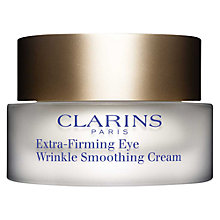 Buy Clarins Extra-Firming Eye Wrinkle Smoothing Cream, 15ml Online at johnlewis.com