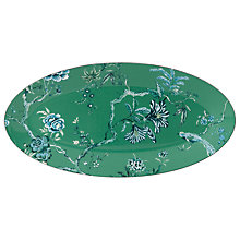 Buy Jasper Conran for Wedgwood Chinoiserie Green Oval Dish Online at johnlewis.com