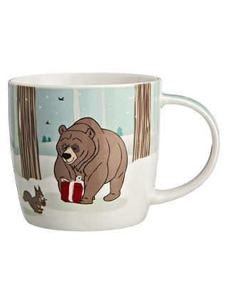 Buy John Lewis Bear & Hare Mug in a Tin, 0.3L, Multi Online at johnlewis.com