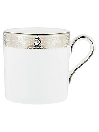 Vera Wang for Wedgwood Lace Platinum Coffee Cup