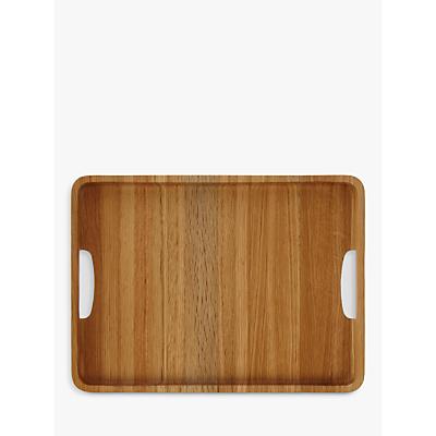 Image of John Lewis & Partners Large Rectangle Wood Tray