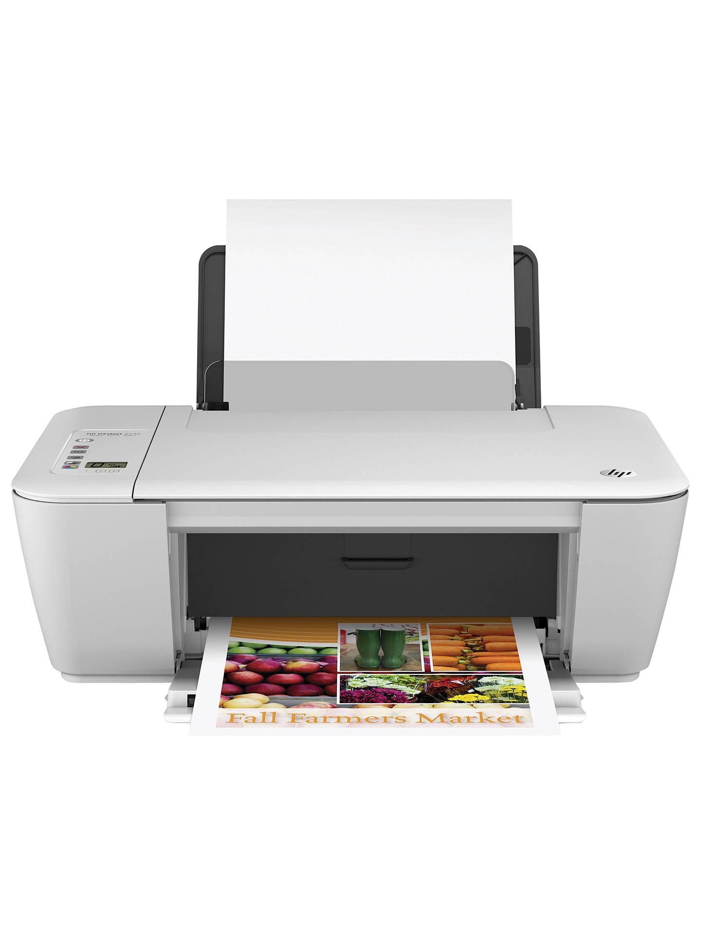 Hp Deskjet 2540 All In One Printer At John Lewis Amp Partners