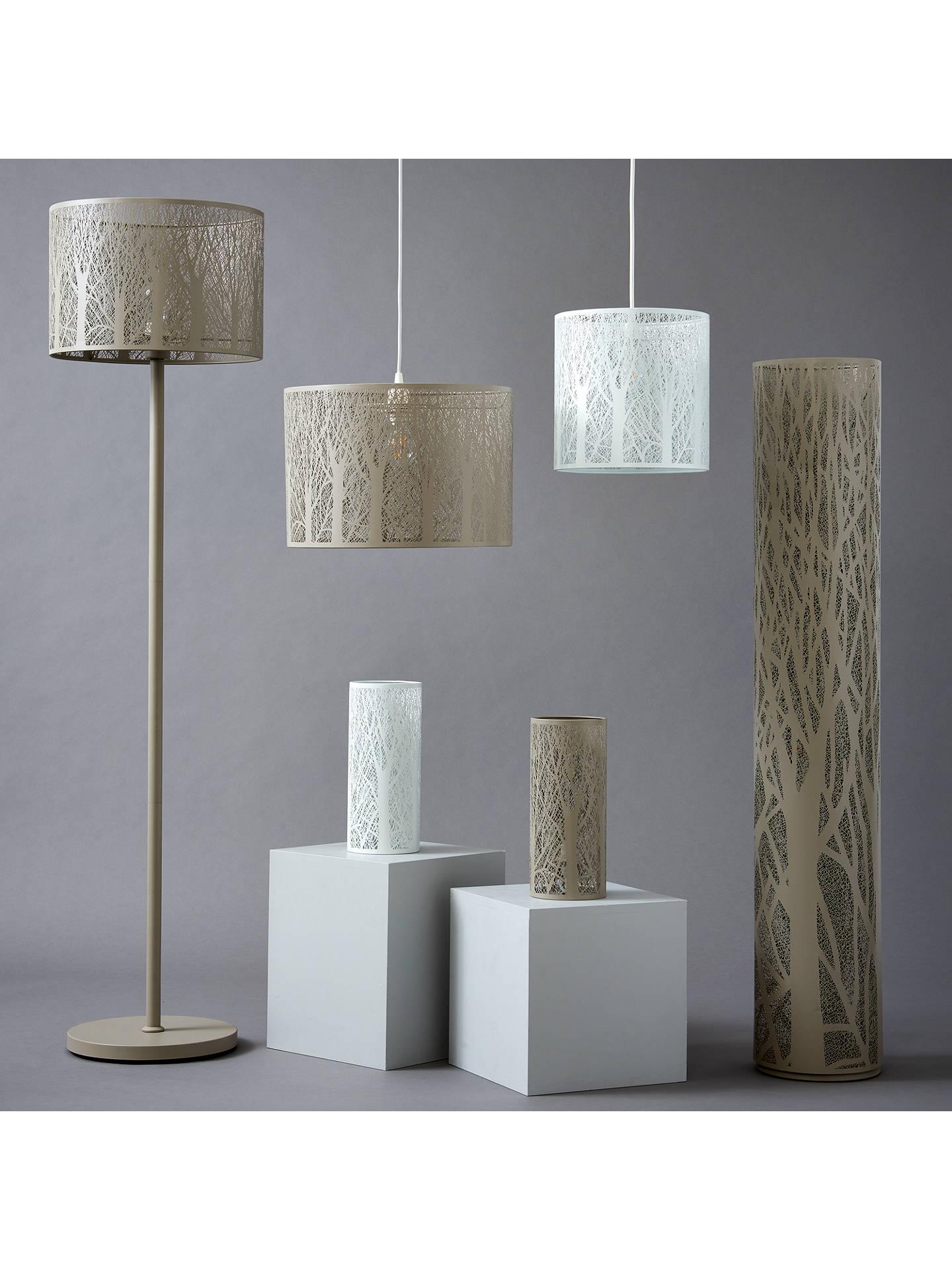 John Lewis Partners Devon Table Lamp White