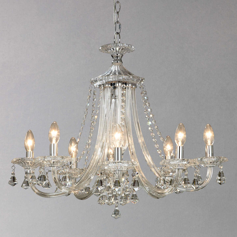 John lewis ophelia crystal chandelier 8 light at john lewis buyjohn lewis ophelia crystal chandelier 8 light online at johnlewis aloadofball Images