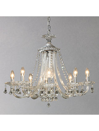 Buy John Lewis & Partners Ophelia Crystal Chandelier, 8 Light Online at johnlewis.com