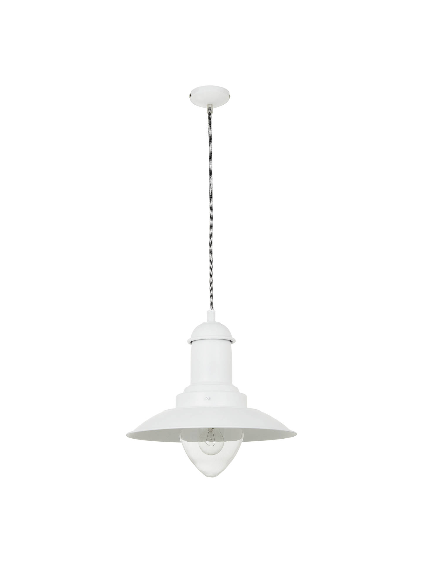 BuyJohn Lewis & Partners Barrington Ceiling Pendant, White Online at johnlewis.com