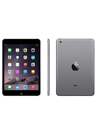 "Buy Apple iPad mini 2, Apple A7, iOS, 7.9"", Wi-Fi, 16GB, Space Grey Online at johnlewis.com"