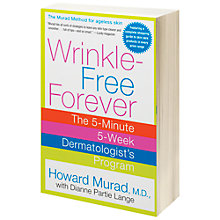 Buy Murad Wrinkle Free Forever Book Online at johnlewis.com