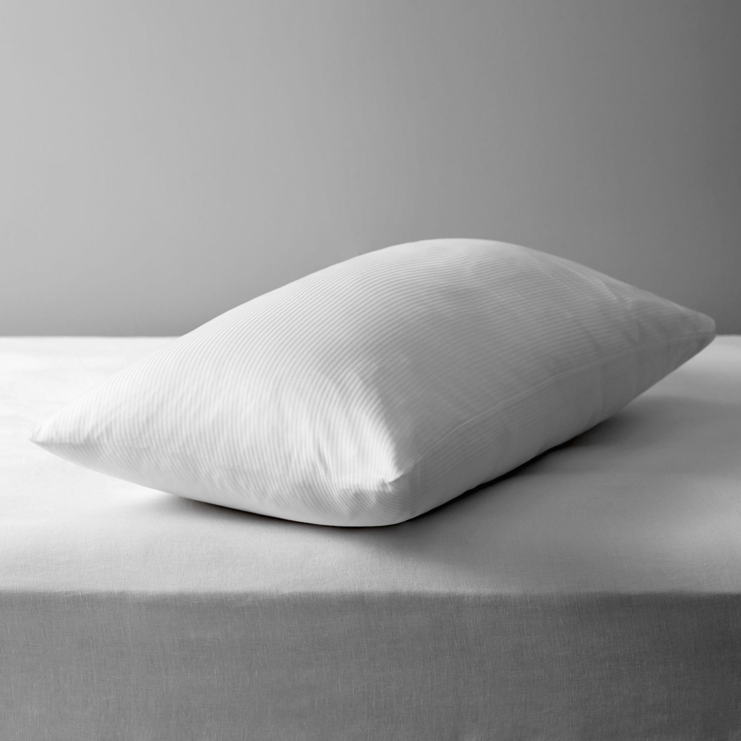 John Lewis & Partners Natural Cotton Kingsize Pillow Liners, Pair