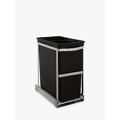 Image of simplehuman Under Counter Pull-Out Bin, 30L
