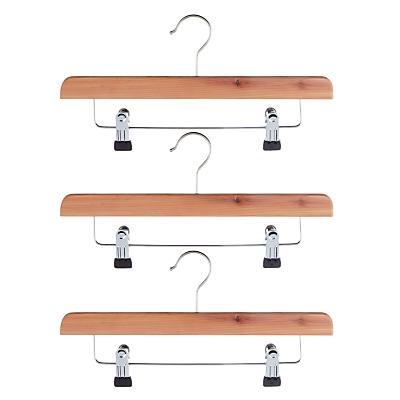 John Lewis Clip Hangers, FSC-certified (Cedar), Pack of 3