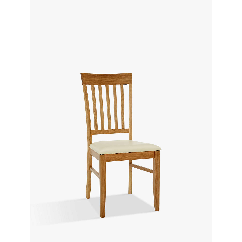 John Lewis Alba Slat Back Dining Chair At John Lewis