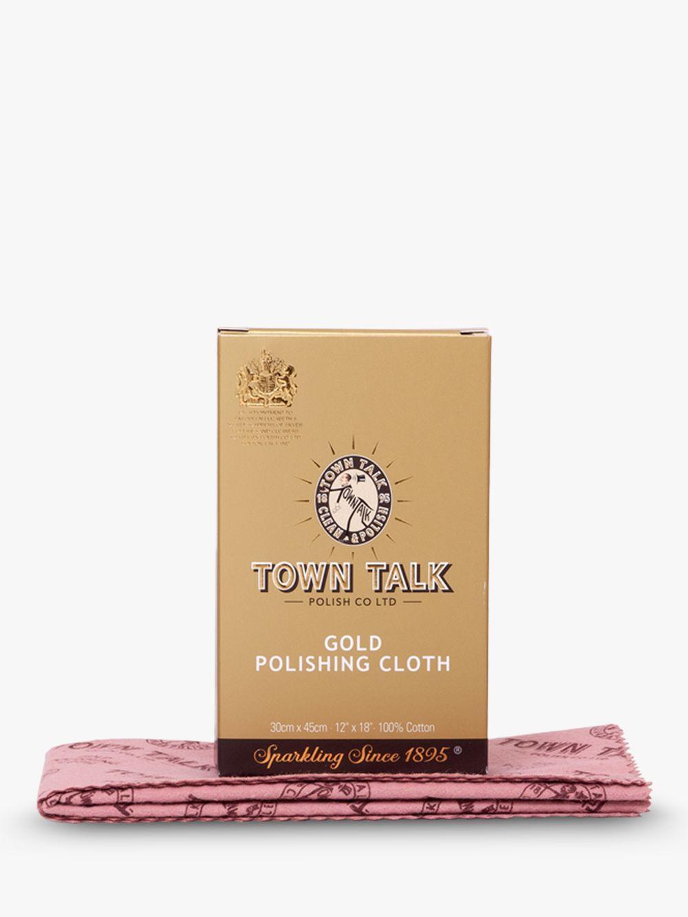 Town Talk Town Talk Brilliant Gold Polishing Cloth