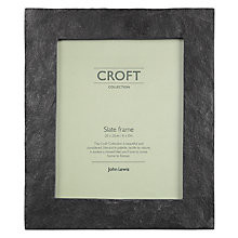 "Buy John Lewis Croft Collection Slate Photo Frame, Black, 8 x 10"" (20 x 25cm) Online at johnlewis.com"