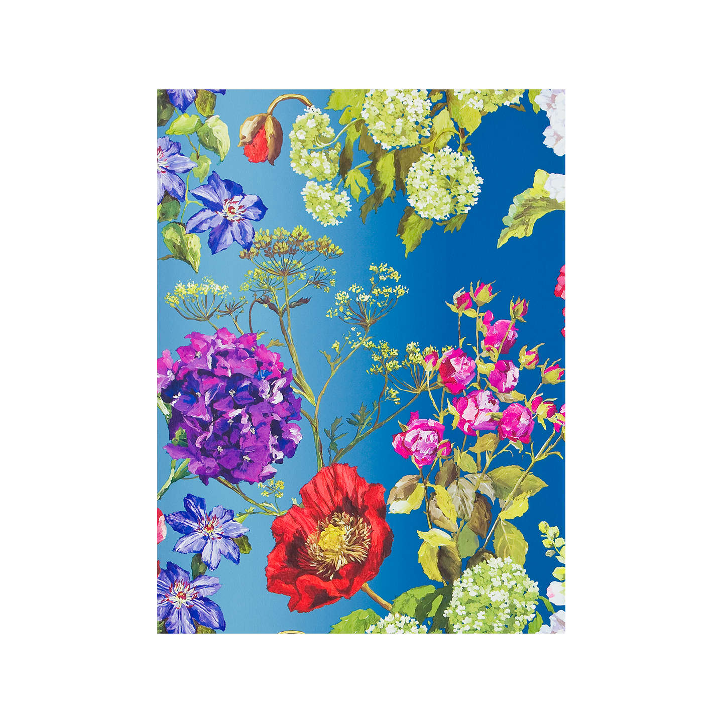 BuyDesigners Guild Alexandria Wallpaper Lapis P623 01 Online At Johnlewis