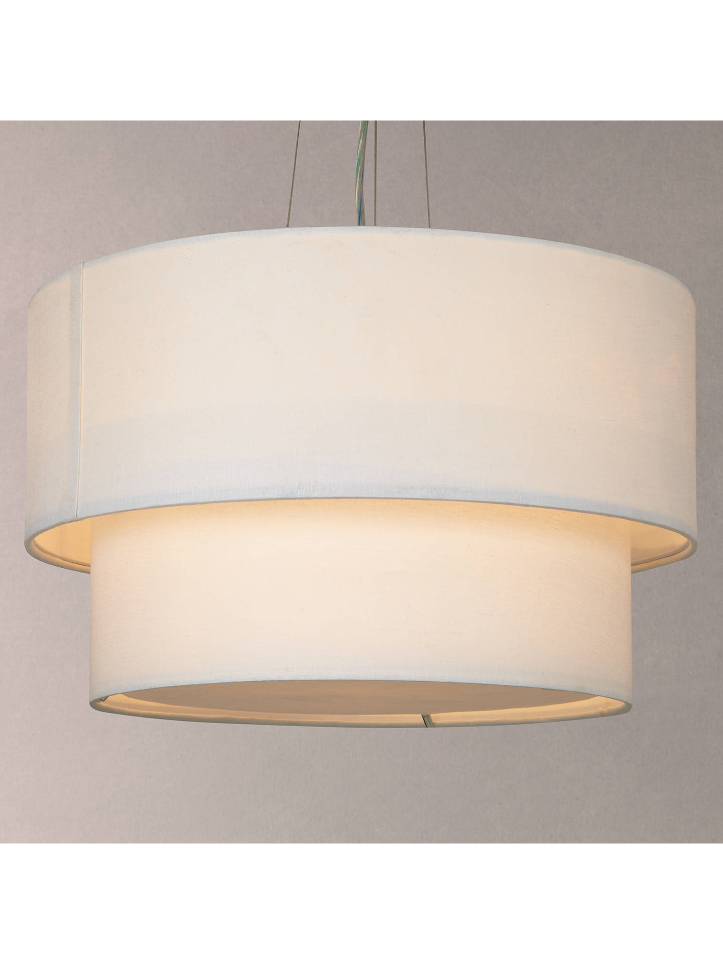 John Lewis & Partners Samantha Layers Diffuser Pendant Ceiling Light