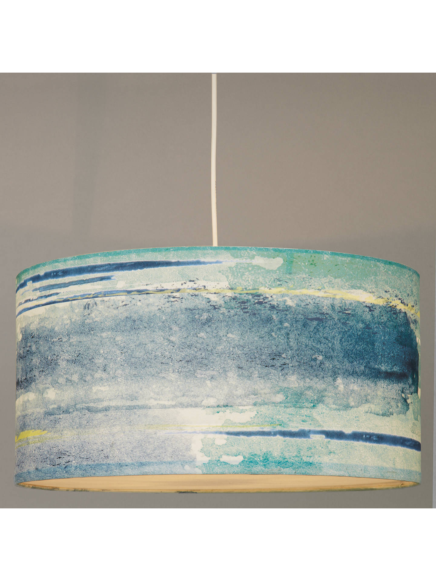 Buy John Lewis Easy-to-fit Nara Ceiling Pendant, Blue Online at johnlewis.com