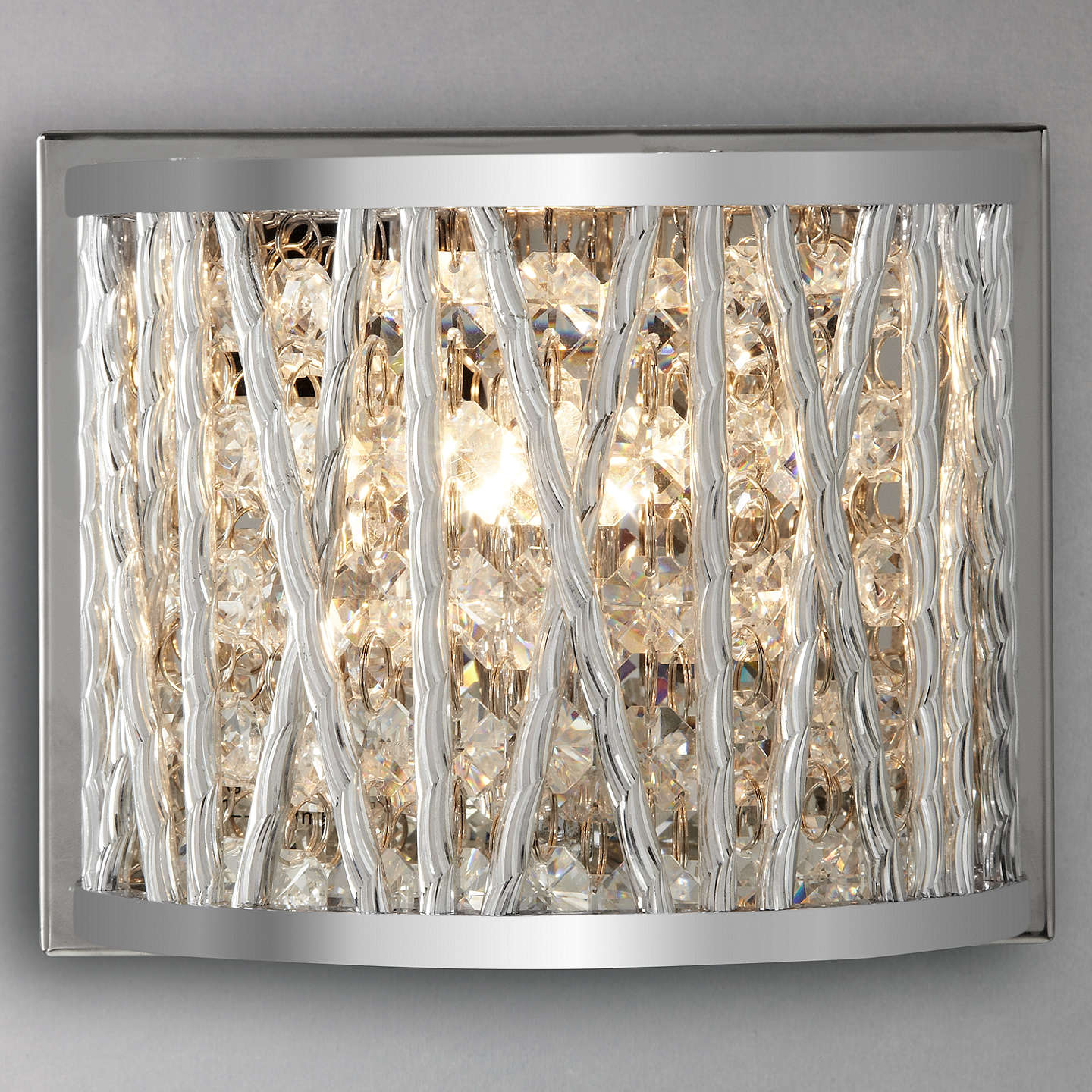 John lewis emilia crystal drum wall light at john lewis buyjohn lewis emilia crystal drum wall light online at johnlewis aloadofball Image collections