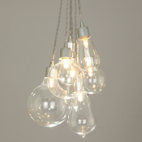Buy John Lewis Croft Collection Kinsley Glass Dangle Cluster Ceiling Light  Online at johnlewis.com ...