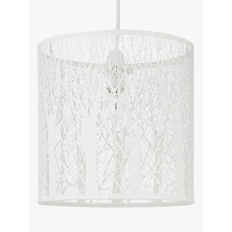 buy john lewis devon easy to fit ceiling shade small