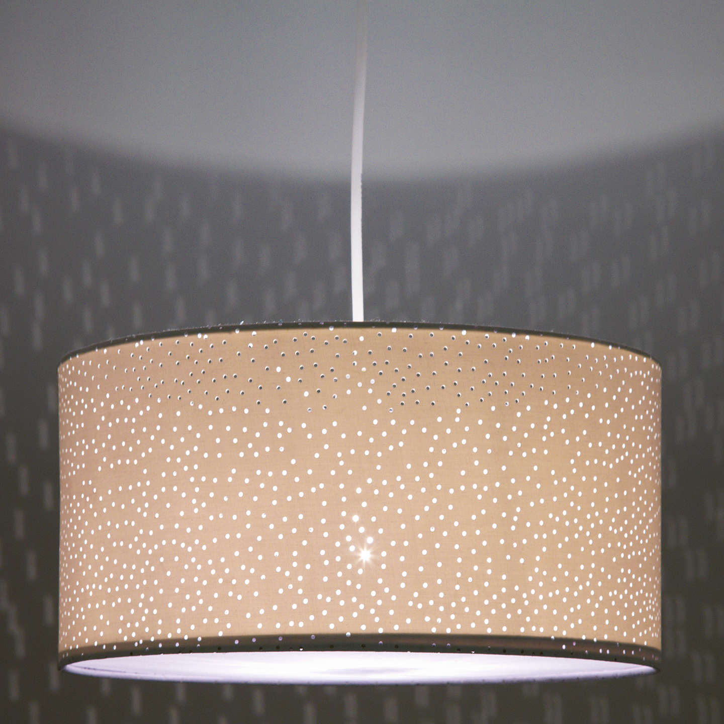 John lewis easy to fit alice starry sky ceiling shade at john lewis buyjohn lewis easy to fit alice starry sky ceiling shade white online at mozeypictures Images
