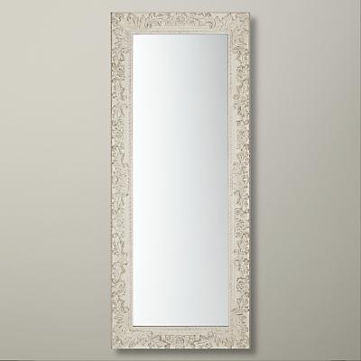 John Lewis Loire Mirror, 58cm x 138cm, Cream