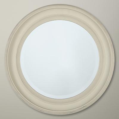 John Lewis Porthole Mirror, White, Dia.39.5cm