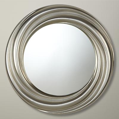 John Lewis Salon Swirl Mirror, Gold, Dia.68cm
