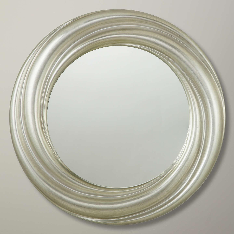 John Lewis Salon Swirl Mirror Silver At John Lewis