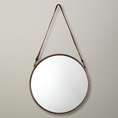 John Lewis Round Hanging Mirror, Dia.30cm