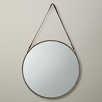 John Lewis Round Hanging Mirror, Dia.50cm