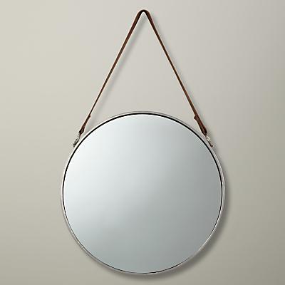 John Lewis Round Hanging Mirror, Dia.38cm