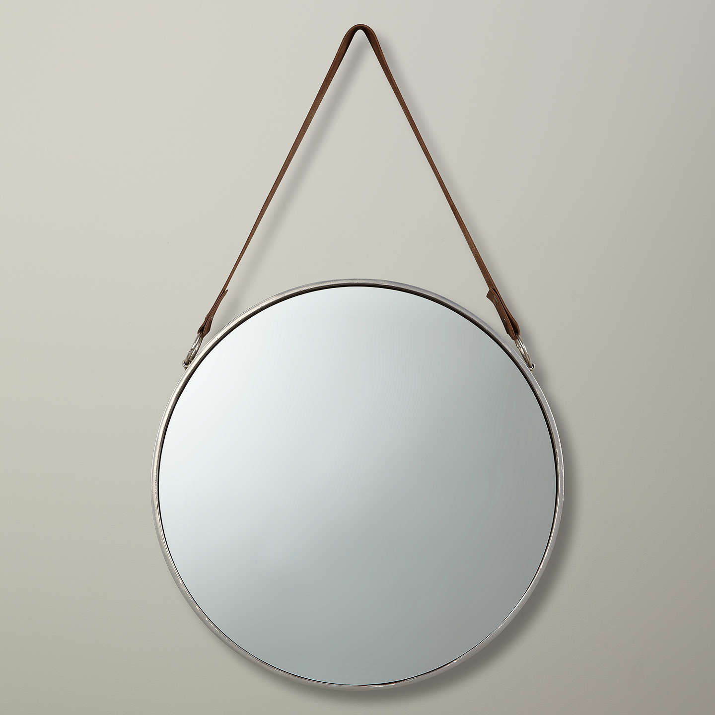 John lewis round hanging mirror at john lewis for Hanging mirror