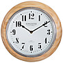 Buy Acctim Haswell Birch Radio Controlled Wall Clock, Natural Online at johnlewis.com