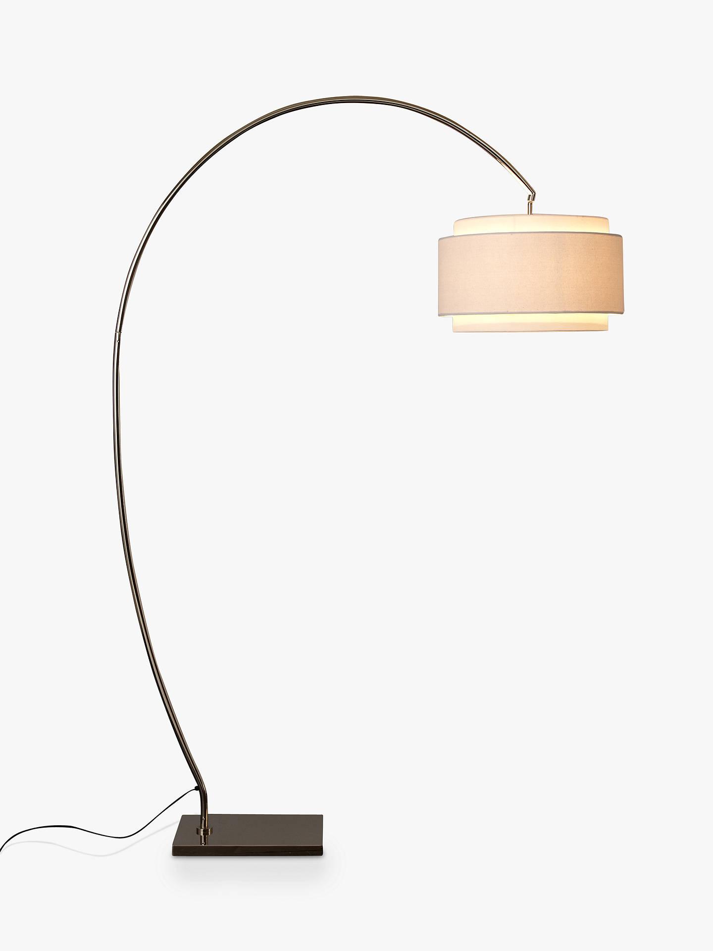 John Lewis Amp Partners Evie Curve Floor Lamp At John Lewis