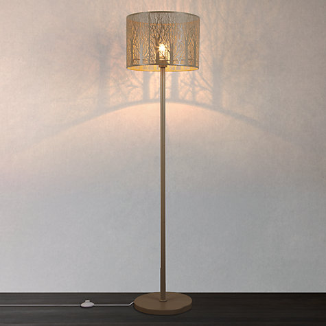 Buy John Lewis Devon Large Floor Lamp Taupe John Lewis