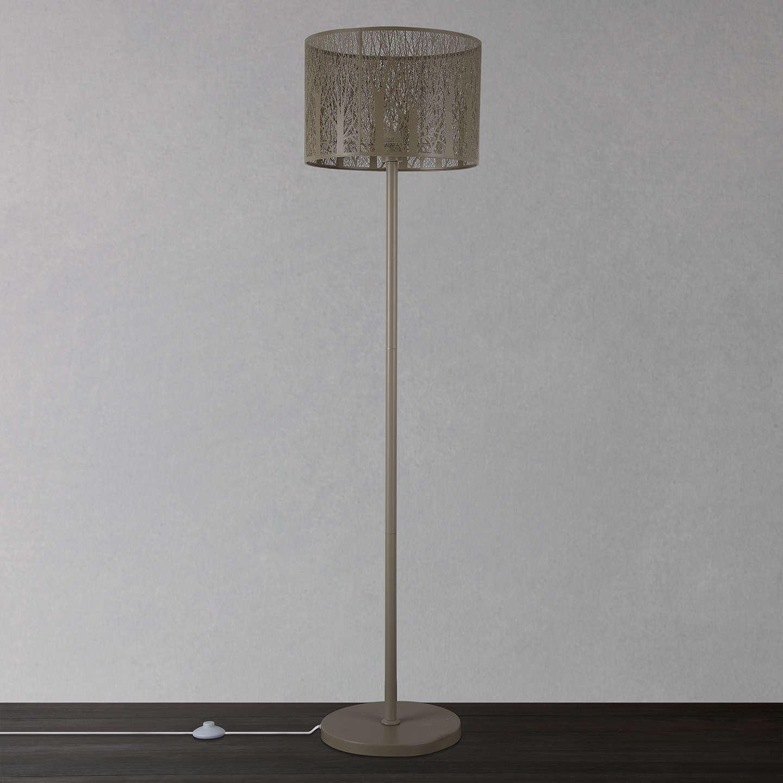 John Lewis Devon Large Floor Lamp Taupe At John Lewis