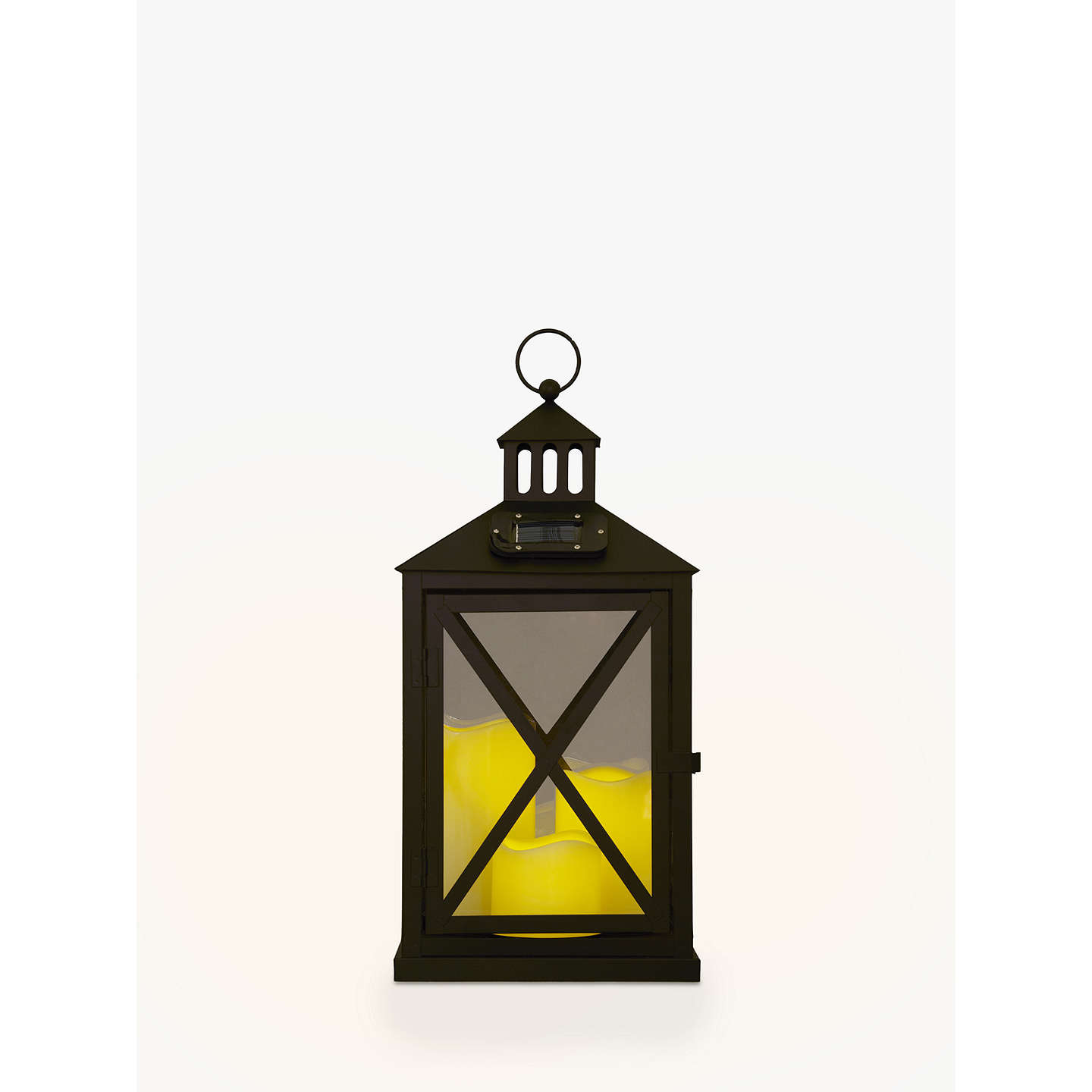 Porch Light John Lewis: John Lewis Hartford Outdoor Lantern, Large At John Lewis