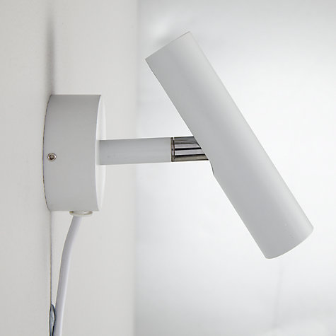 Buy Nordlux MIB 3 Single LED Wall Spotlight, White Online at johnlewis.com