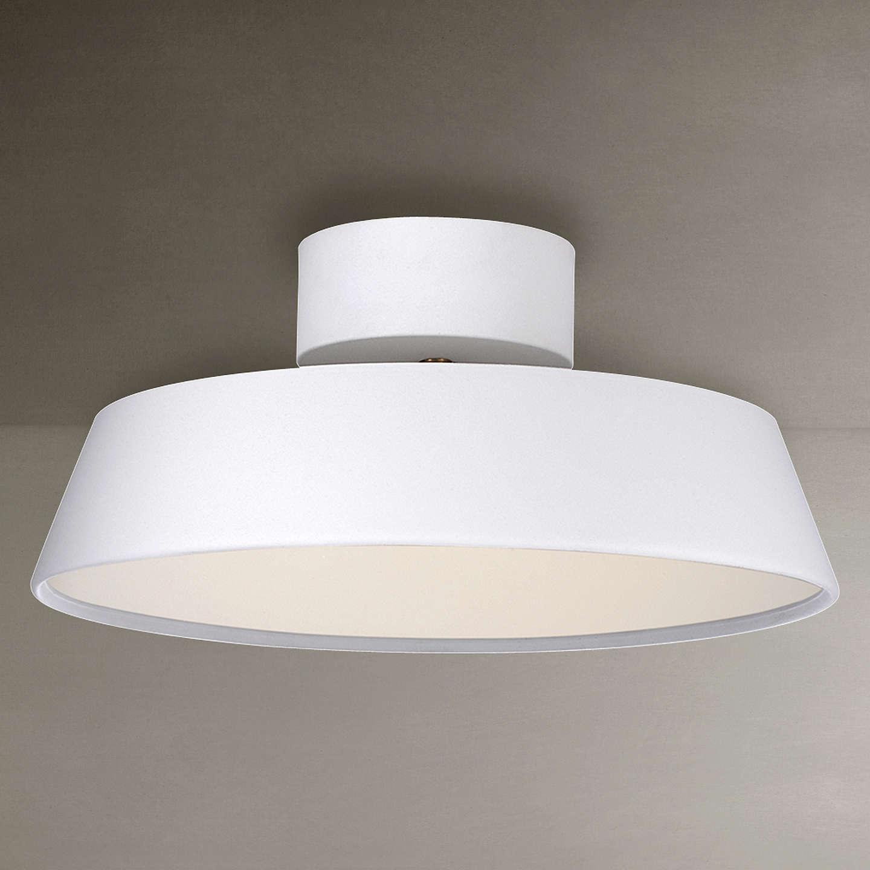 Nordlux Alba LED Adjustable Tilt Semi-flush Ceiling Light ...