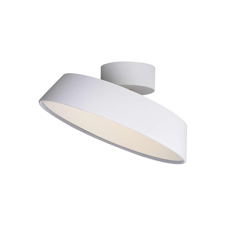 nordlux alba led adjustable tilt semi flush ceiling light at john lewis