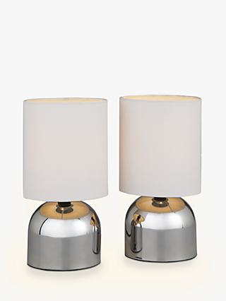 House by John Lewis Lucy Touch Lamp Duo, Set of 2