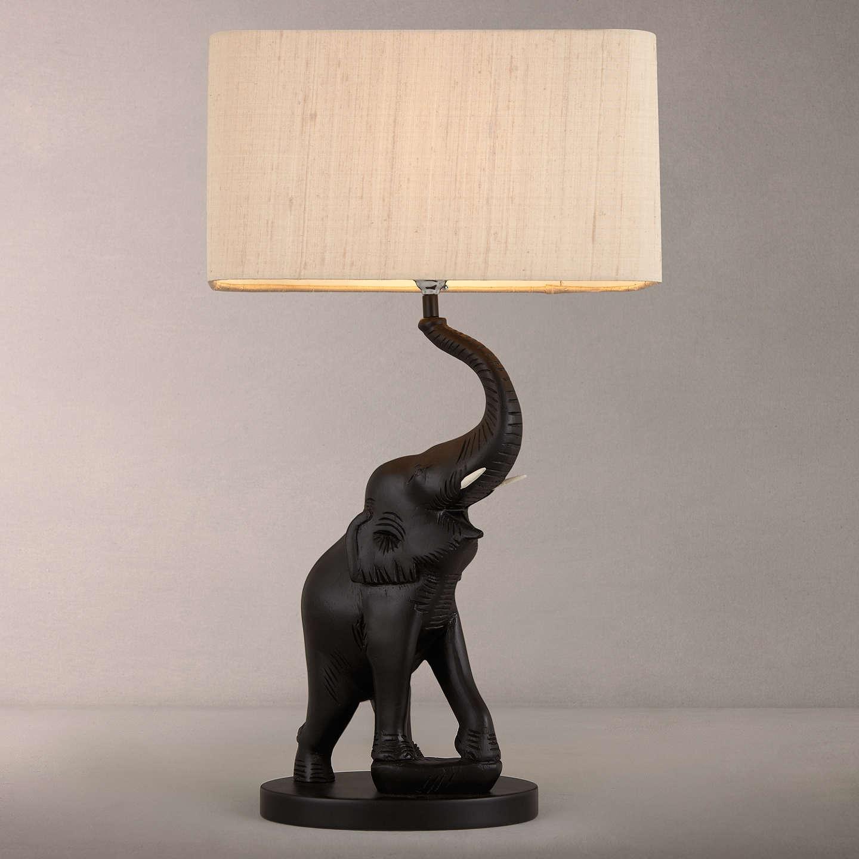 BuyDavid Hunt Tantor Elephant Table Lamp Online At Johnlewis.com ...
