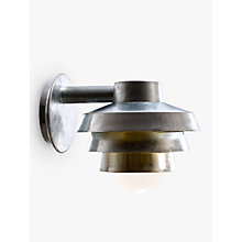 Buy Nordlux Elements Galvanised Outdoor Wall Light Online at johnlewis.com