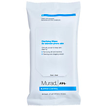 Buy Murad Blemish Clarifying Wipes Online at johnlewis.com