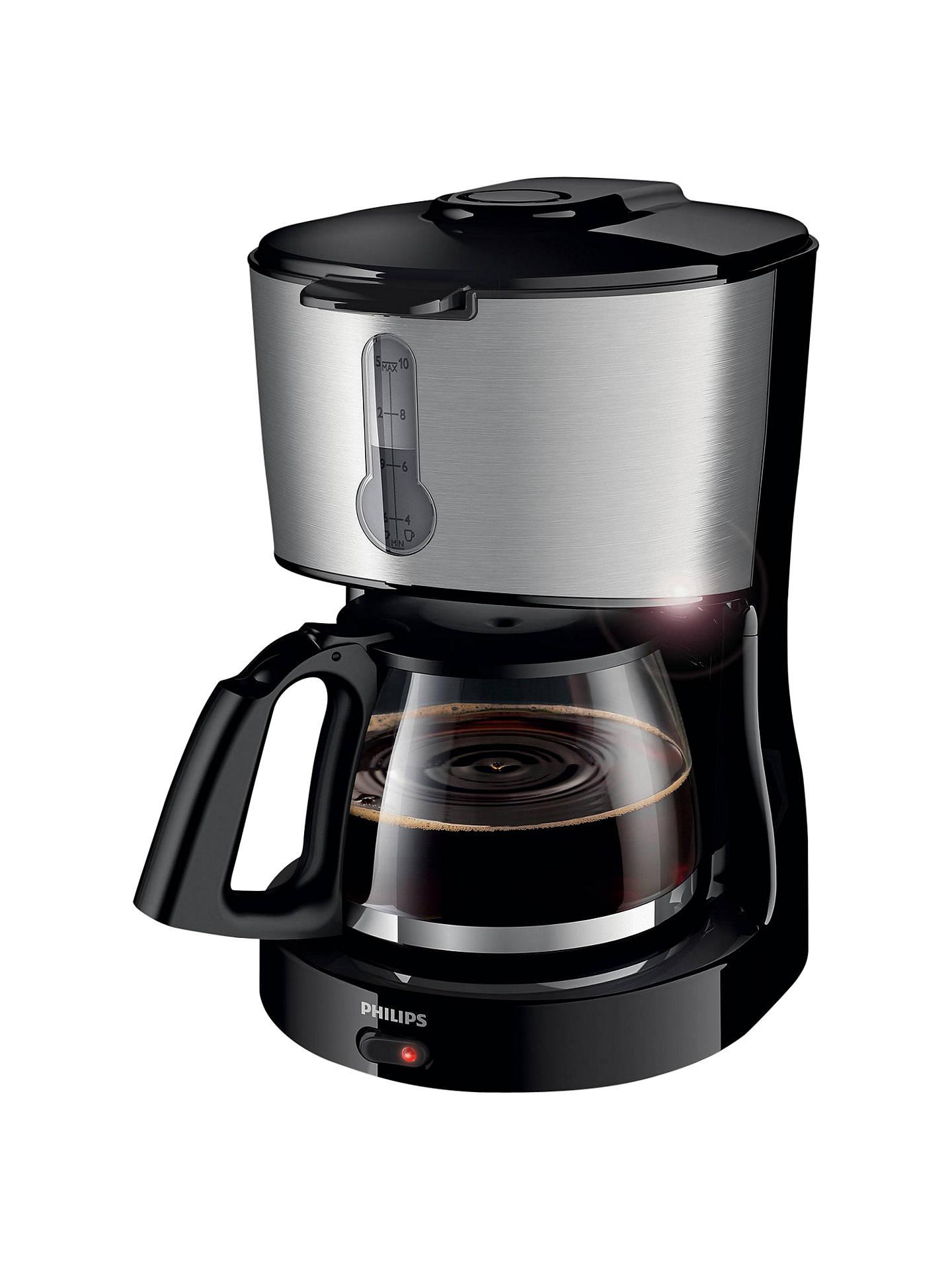 Philips Hd745800 Phoenix Filter Coffee Machine Black At