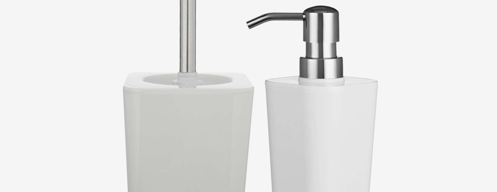 John Lewis & Partners Arctic White Bathroom Accessories at John ...