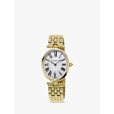 Frédérique Constant FC200MPW2V5B Womens Classics Art Deco Bracelet Strap Watch GoldWhite